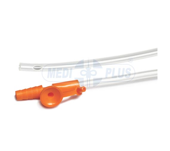 Suction Catheter With Thumb Control