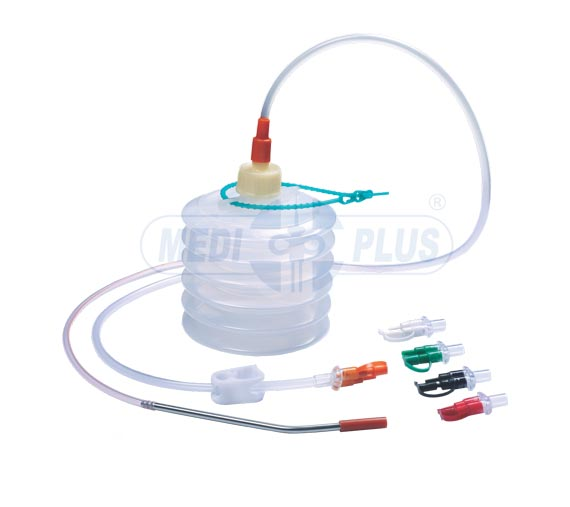 Close Wound Suction Unit